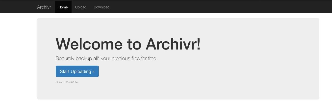 RITSEC CTF 2018 - Archivr 300 (Web) | 0xc0ffee☕